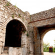 Part of Samuel s Fortress in Ohrid, Macedonia — Stock Photo