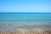 Seashore landscape from Greece — Stock Photo