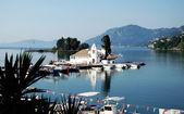 Monastery Vlahelna, Kerkyra, Corfu Island, Greece — Stock Photo
