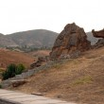 Hieropolis locality, close to Kale Pamuk, Turkey — Stock Photo #37985151