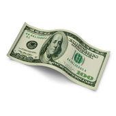 Nota de cem dólares moeda — Foto Stock