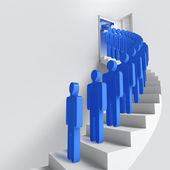 Stairway or opportunity for success — Stock Photo