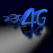 4G technology replacing 3G and previous networking — Stock Photo