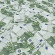 Background of Euro notes — Stock Photo #23810029
