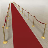 VIP red carpet — Stock Photo