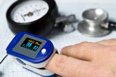 Pulse oximeter — Stock Photo