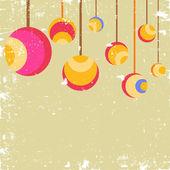 Christmas Balls. — Stock Vector
