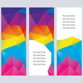 Abstract banners. — Stock Vector