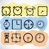 Zegary — Wektor stockowy