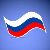 Russian flag — Stock Vector