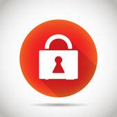 Lock icon. — Stock Vector