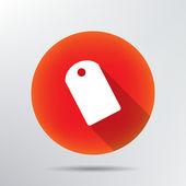 Icono de etiqueta. — Vector de stock
