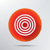 Target icon. — Stock Vector