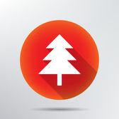 Fir tree icon. — Stock Vector