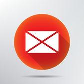 Envelope icon. — Stock Vector