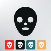 Ikona masky. — Stock vektor