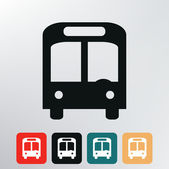 City bus icon. — Stock Vector