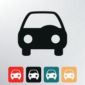 Auto-symbol. — Stockvektor