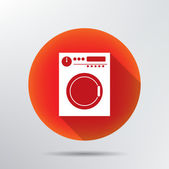 Washing machine icon. — Stock Vector