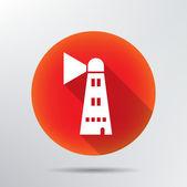 Lighthouse icon. — Stock Vector
