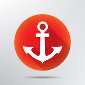 Anchor icon. — Stock Vector