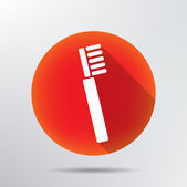 Toothbrush icon. — Stock Vector