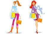 Shopping. — Vecteur
