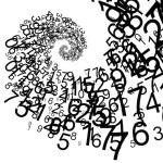 Digital spiral — Stock Photo