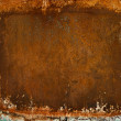 Rusted metal background — 图库照片