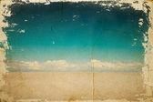Pouštní krajina — Stock fotografie