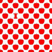 Wzór z jabłkami — Zdjęcie stockowe