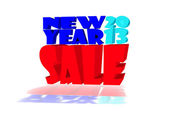 New year 2013 SALE in various colors — Foto Stock