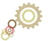 Multiple Sprocket design — Stock Photo