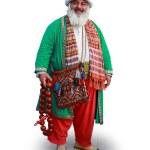 Unidentified man in Nasreddin Hodja costume — Stock Photo #12125359