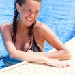 Stock Photo: Relax in swimming pool
