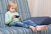 мальчик геймера — Стоковое фото