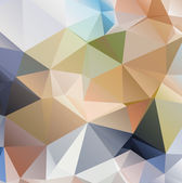 Abstract triangle background — Stock Vector