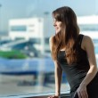 Woman in the airport — Stock Photo #43280193