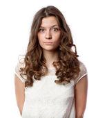 Shocked woman — Stock Photo