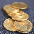 Stock Photo: Coins..