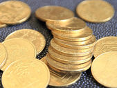 Richness of coins. — Stock Photo