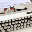 Typewriter. — Stock Photo