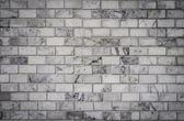 White bricks wall, background — Stockfoto