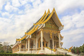 Beautiful Thai Church at Veruwan meditation center — Foto de Stock
