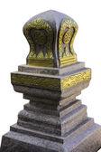 Marcador de límite de un templo (Sema) — Foto de Stock