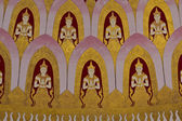 Mural on ceiling of Nine-end Pagoda — Stock Photo