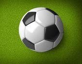 A soccer ball — Stock Photo