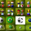 Brazil 2014, group C. — Stock Photo