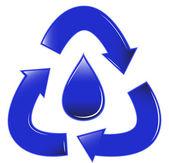 Recycle Tear — Stock Vector