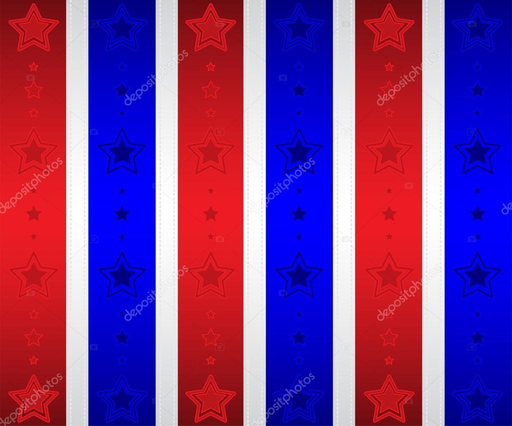 Patriotic Stars Wallpaper | Stock Vector © Amber Harrington #